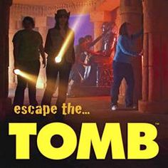 The Tomb Egyptian Adventure - A family adventure! Located in Pigeon Forge, this attraction will take your group of archaeologists deep into an ancient Egyptian tomb for 45 minutes of excitement!