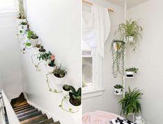 Jardim em apartamento | http://www.blogdocasamento.com.br/jardim-em-apartamento/