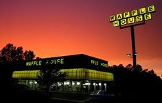 Waffle House....NEVER gets old.