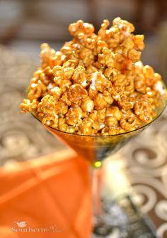 Caramel Corn with Sea Salt
