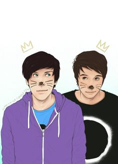 Phil and Dan - philisnotonfire by *Kumagorochan on deviantART