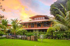 Blue Osa main building Playa Tamales, Osa Peninsula Costa Rica #yoga #yogi #retreat #meditation