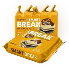 Smart Break  Body & Fit Smart Protein, Chips, Snacks, Fitness, Cookies, Recovery, Meal, Tapas Food