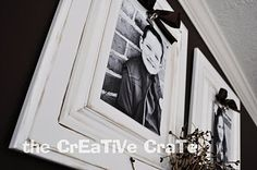 cabinet door diy projects--decorative clip board from the creative crate