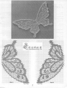 Mariposas en Crochet - Elena Talavera - Álbumes web de Picasa