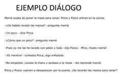 Expresión escrita. Diálogo.