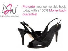 Day2Night - Convertible High Heel Shoes by Candice Cabe & Nadine Lubkowitz, via Kickstarter.
