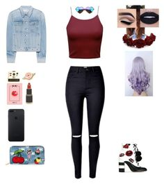 """Pin me"" by evewalts16 ❤ liked on Polyvore featuring GEDEBE, rag & bone, Polaroid, Georgia Perry, Viola and Wildfox"
