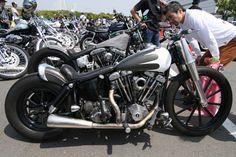 JOINTS CUSTOM BIKE SHOW 2009 Parking ジョインツ カスタム バイク ショー 駐車場 - チョッパーとカスタムなオールド・ハーレーの名古屋発写真アーカイブ | SP@RETiME Photo