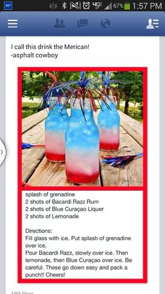 4th of july drink