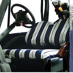Golf Cart accessories and parts for all your needs. Golf Cart Seats, Golf Carts, Golf Cart Accessories, Seat Covers, Natural, Classic, Model, Derby