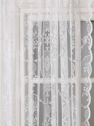 Vit gammaldags spetsgardin rosor girlander 2 st shabby chic lantlig stil Vit, Shabby Chic, Curtains, Home Decor, Blinds, Decoration Home, Room Decor, Draping, Home Interior Design