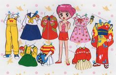 paper dolls-- PANTIP.COM : A11424032 ==โชว์ของสะสมจ้า++ ตุ๊กตากระดาษ ตาหวานแสนสวย..== [การ์ตูน]