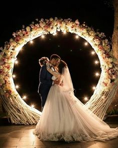 Our 10 favourite styles of wedding arch. leave your guests inspired and ensure stunning wedding photography by including any of these 10 styled of wedding arch in your wedding ceremony. Night Wedding Photos, Starry Night Wedding, Romantic Wedding Photos, Romantic Weddings, Wedding Pictures, Night Time Wedding, Wedding Images, Party Pictures, Night Beach Weddings