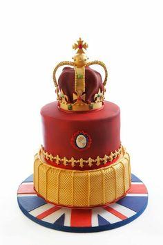 Diamond Jubilee Cake