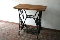 シンガーミシン台|SINGER|w73×d36×h75cm- カフェスタイルのアンティークな古家具・古道具の雑貨ショップ『ひぐらし古具店』