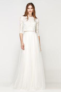 SIÖDAM Couture | Foreverly.de Wunderschöner Zweiteiler für ein ganz besonderes Hochzeitsoutfit.