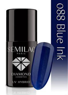 Lakier hybrydowy Semilac 088 Blue Ink - 6 ml