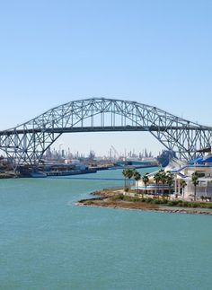 The Harbor Bridge - Corpus Christi, TX I used to drive this bridge daily from Portland to Corpus Christi State Univ - now A & M at CC