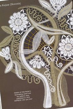 lace express especial 2007 - PAQUITA CALAHORRA - Picasa Web Albums Hairpin Lace Crochet, Zen Colors, Romanian Lace, Lace Art, Bobbin Lace Patterns, Lacemaking, Victorian Lace, Point Lace, Lace Embroidery