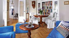 Mieszkanie z duszą w przedwojennej kamienicy - bez nadmiernego luksusu, ale z klasą
