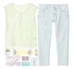 """""""i need you're love"""" by just-charlotte-xo ❤ liked on Polyvore featuring Monki, H2O+, polyvorecommunity, polyvoreeditorial, ilovemyfollowers and charfashion"""