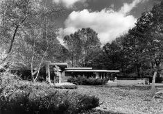 Melvyn Maxwell and Sara Stein Smith House (1949) | Frank Lloyd Wright | Michigan State Historic Preservation Office