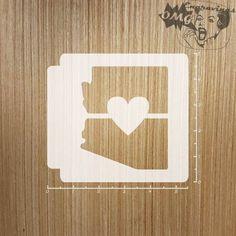 Colorado State Love 783-A326 Stencil