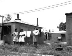 The Untold Story:  The Girls of Atomic City       Black women were recruited to a muddy boom town in the Appalachian Mountains in 1942 to work on the top-secret project of refining and enriching uranium work in the plant, at Clinton Engineer Works in Oak Ridge, Tennessee. They were forced to live in huts and were not allowed to live with their spouses or bring their children - unlike white women.