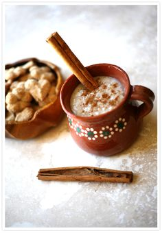 Avena (Old-Fashioned Mexican Oatmeal)...so sweet and filling. Very soothing recipe...