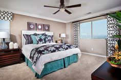 Master Bedroom at Skycrest Plan 2 | New Homes at Inland Empire
