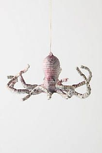 Sea Story Octopus Ornament