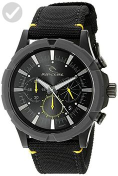 Rip Curl Men's A2862-MID Maverick Chrono Analog Display Analog Quartz Black Watch - Mens world (*Amazon Partner-Link)