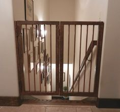 63 Best Stairway Gate Images On Pinterest Pet Gate Stairs And