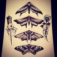 Картинки по запросу мотылек эскиз тату