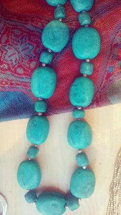 #Collana di #Turchesi - #Frida #Creazioni