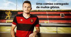 Anúncio da nova camisa retrô do Sport (Divulgação)