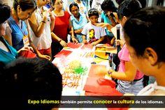 Expo Idiomas también permite conocer la cultura de los idiomas.