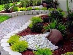 30+ The Best Rock Garden Landscaping Ideas To Make A Beautiful Front Yard