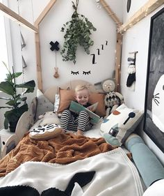 Love all the texture, plants and wall decor! However, there ar… Boy bedroom idea. Love all the texture, plants and wall decor! However, there are a lot more boys bedroom ideas to enrich your toddler's room reference Scandinavian Bedroom, Kids Room Design, Bed Design, Girls Bedroom, Baby Boy Bedroom Ideas, Boy Toddler Bedroom, Bedroom Bed, Childs Bedroom, Kid Bedrooms