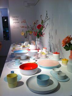 Prachtig nieuw servies van Scholten en Baijings, gezien bij Rossana Orlandi in Milano