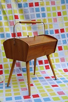I remember my aunt Mae having one just like this when I first learn to sew would love to find something like this.