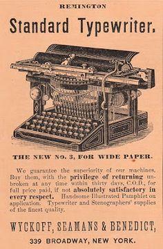 Free Clip Art  Vintage Typewriter