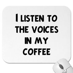 Yes... coffee speaks