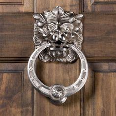 Panthera Brass Door Knocker - Door Knockers - Hardware