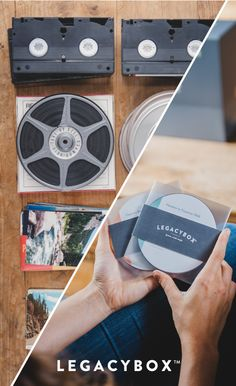 We love DIY projects, but on this one, trust Legacybox to digitize your old family movies into new, ready-to-watch DVDs and digital files.