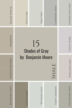 Gray Paint Colours with Undertones revealed Paint Colors For Living Room, Paint Colors For Home, Room Paint, Room Colors, Wall Colors, House Colors, Paint Colours, Light Grey Paint Colors, Best Neutral Paint Colors