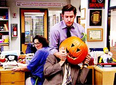 pumpkin head dwight
