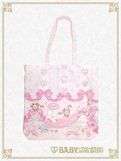 Baby, the stars shine bright Kumya chan's Ribbon C'est Bon Belle Journée tote bag