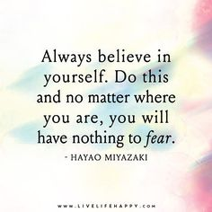 Most people don't believe in themselves because of fear. Fear of rejection fear of being judged fear of being successful fear of failure.  Be outstanding and believe you are break out of all the fear and just go for it.  It's better to life full of mistakes instead of living a life full of regret.  #limitbreaklifestyle #followyourheart #findyourjourney #breakyourlimits #outstanding #believe #trust